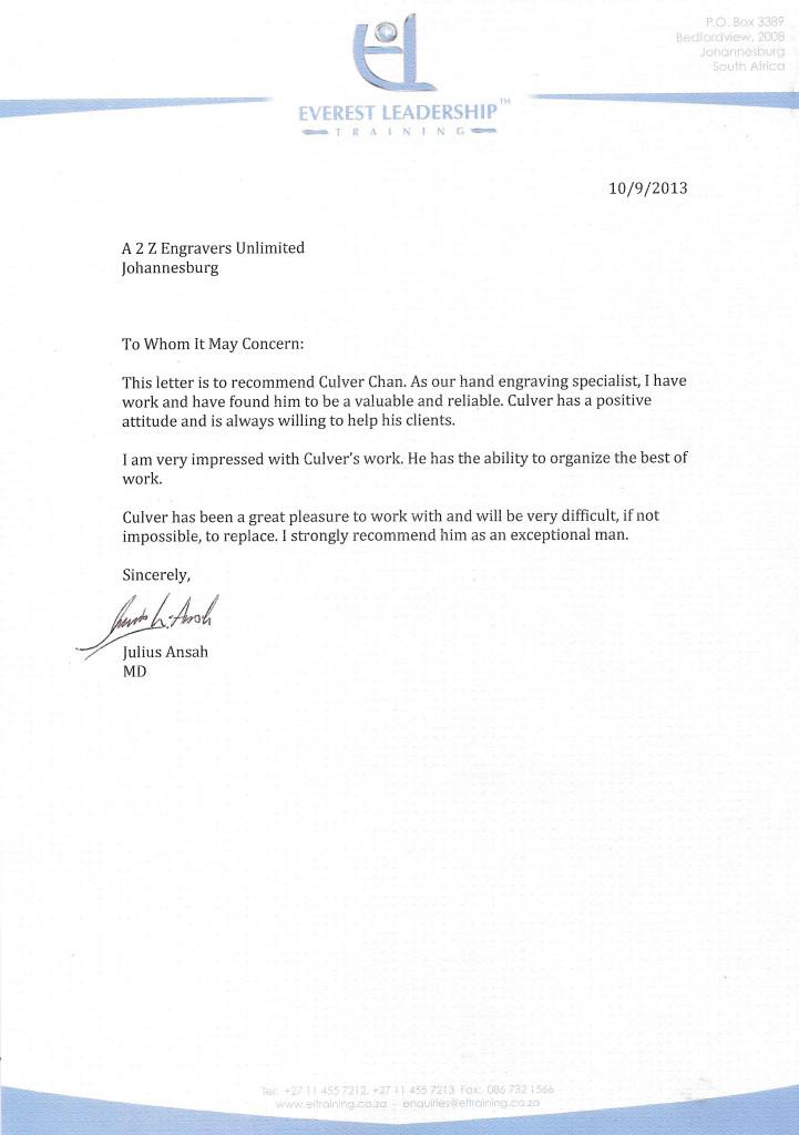 Everest Leadership  Training - Testamonial